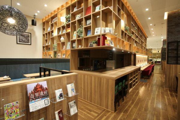 啓文社 BOOKS PLUS 緑町 本と出会える珈琲店 BOOK MEETS COFFEE